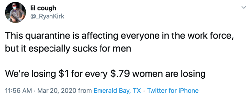 Equal Pay Today tweet